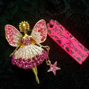 Betsey Johnson Fairy Brooch